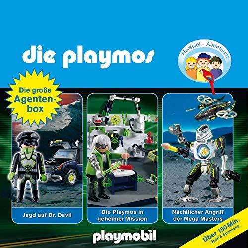 Die große Agenten-Box. Das Original Playmobil Hörspiel Titelbild
