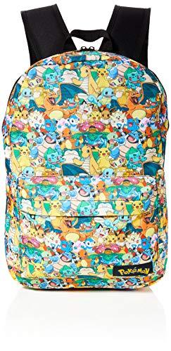 Bioworld POKEMON all over imprimer des caractères sac à dos Sac à dos, 45 cm, 15 litres, multicolore (multicolore)