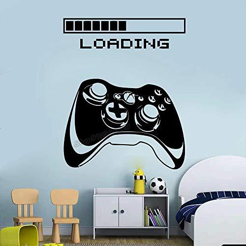 Controlador de videojuegos niñas regalo etiqueta de la pared