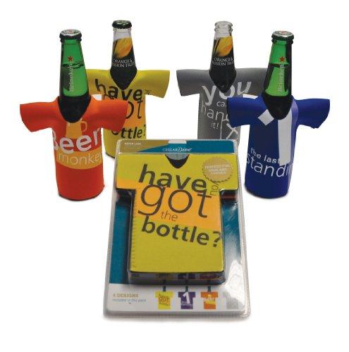 CellarDine Bierflaschen-Kühler, 4-Set