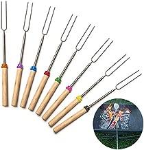 Cisco72 Marshmallow Roasting Sticks 1Pcs Camping Campfire Hot Dog Fork Sticks Skewers BBQ