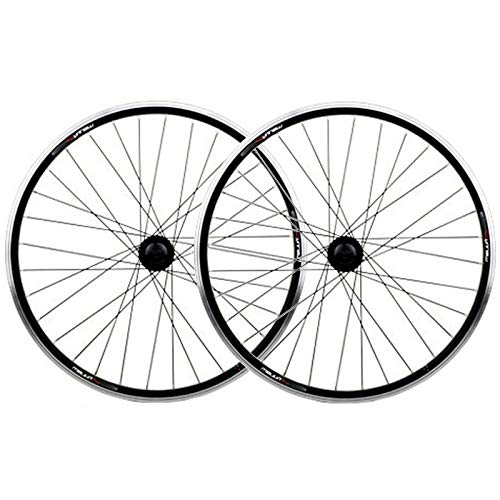 GJZhuan BMX Llantas Bicicleta 20/26' Delantero y Trasero, Doble Capa de Aluminio V-Freno/Disco a Freno Plegable Rueda de Bicicleta de Ciclo del Ruedas Llantas (Size : 26inch)