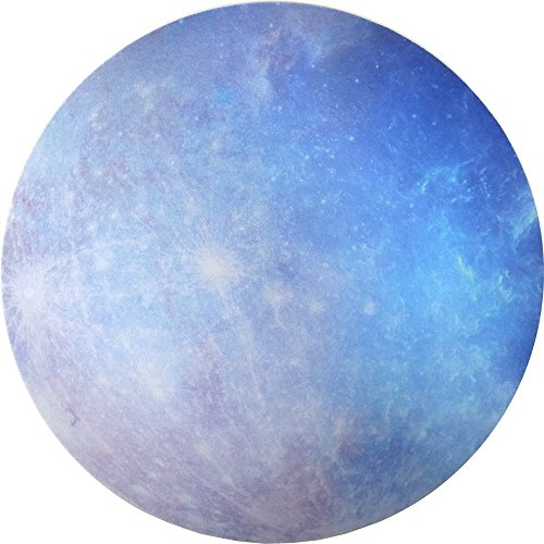 Seninhi Mouse pad Planet Star Universe Individual Fashionable Flexible Tiny Popularity Space Star Round Star Series (Mercury)