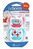 Dr. Brown's Chupetes Prevent +12 Meses Silicona, 2 unidades