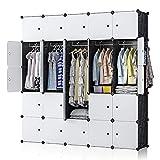 YOZO Portable Closet Wardrobe Modular Cube Storage Organizer...