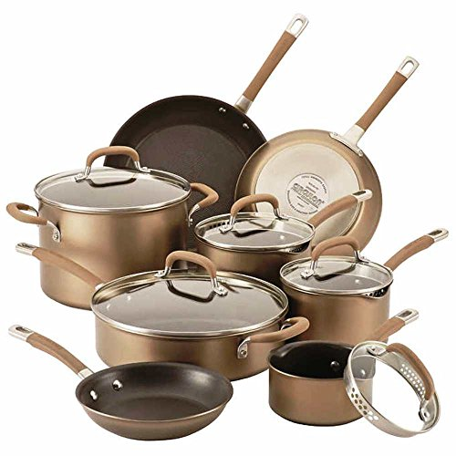 Circulon Premier Professional Nonstick 13-piece Cookware Set | Richly Colored