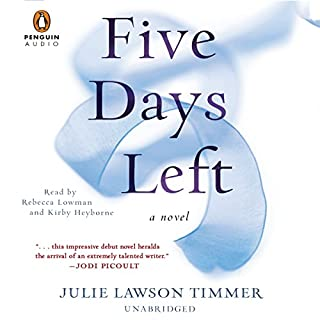 Five Days Left audiobook cover art