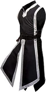 Mens Medieval Templar Knight Surcoat Halloween Costume Renaissance Chevalier Tunic Roman Warrior Cosplay