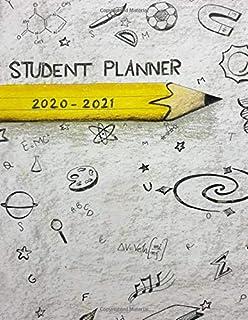 Student Planner 2020-2021: Back To School Organizer Boys or Girls