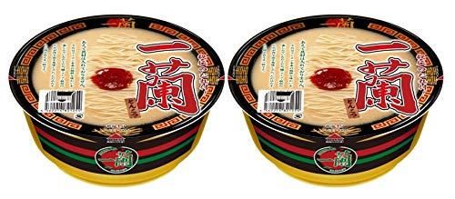 【まとめ買い 2個セット 】 一蘭 とんこつ カップ麺 カップラーメン 秘伝のたれ付