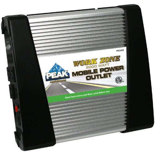 PEAK Mobile Power Outlet, 2000 Watt