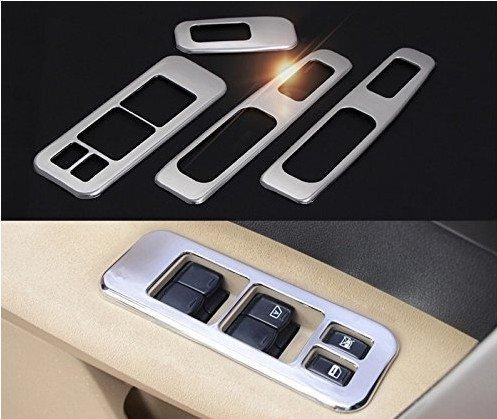 Car Window Lift Switch Regulator Cover Trim 4PCS