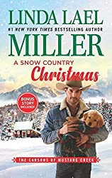 book cover for A Snow Country Christmas by Linda Lael Miller