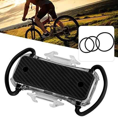 Omabeta Soporte ligero para teléfono móvil de bicicleta de montaña, fácil de usar y quitar, color negro