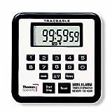 Thomas 5021 Traceable Mini Alarm Timer/Stopwatch, 0.01 Percent Accuracy, 2-3/4' Width x 2-3/4' Height x 1/2' Depth