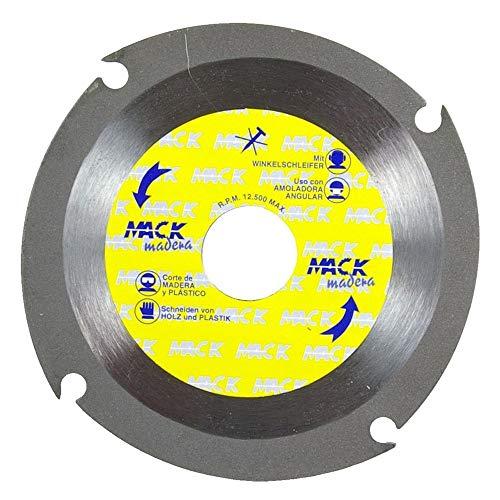 Wurko 17062-0taglio disco/lama per legno (115 x 2 x 22 mm)