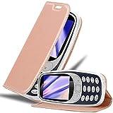 Cadorabo Hülle für Nokia 3310 in Classy ROSÉ Gold -