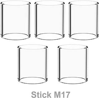 Winnema Candleholders M17 20.2mm Tall 5 Tubes 17mm OD Bulb Glass Tubing Clear (Normal)