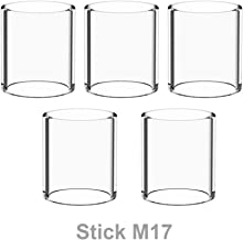 Winnema Candleholders M17 20.2mm Tall 5 Tubes 17mm OD Bulb Glass Tubing Clear (Normal)