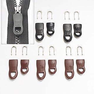 5 st/set utbyte dragkedja taggar dragkedja fixer för kläder svart dragkedja dragfäste för resväska resväska kläder tält ry...
