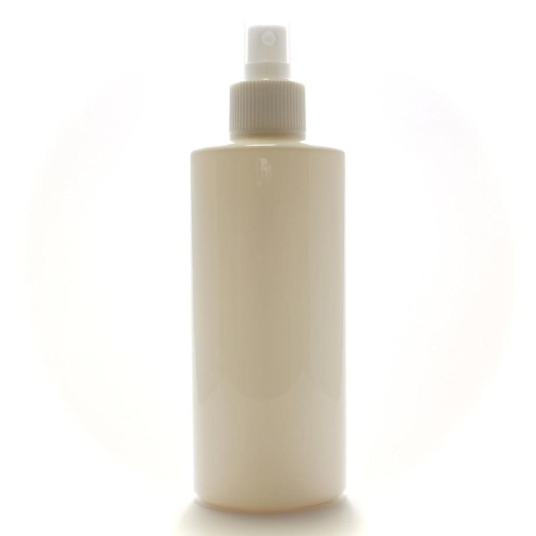 根拠薄めるマイナススプレーボトル 200mL おしゃれ 遮光白 オーバル【ホワイトフィンガースプレー】