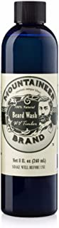 Beard Wash by Mountaineer Brand (8oz) | WV Timber Scent (Cedarwood/Fir Needle) | Premium 100% Natural Beard Shampoo