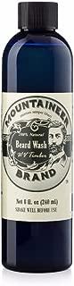Beard Wash by Mountaineer Brand (8oz)   WV Timber Scent (Cedarwood/Fir Needle)   Premium 100% Natural Beard Shampoo