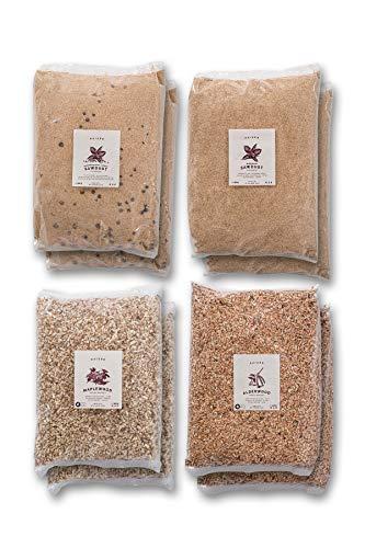 KAISER COMPANY Juego de 8 paquetes de celulosa ahumada fina o de...