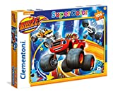 Clementoni - Puzzle 104 Piezas Blaze and The Monster Machine: High Tire (27972)