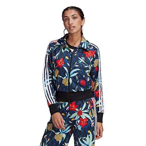 adidas Track Top Suter Pulver, Multicolor, 40 para Mujer