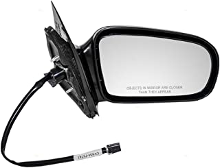 Aftermarket Replacement Passengers Power Side View Mirror Compatible with 95-05 Cavalier Sunfire Coupe 22728842
