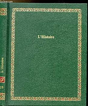 Hardcover L'Histoire (Bibliothèque Laffont des grands thèmes) [French] Book