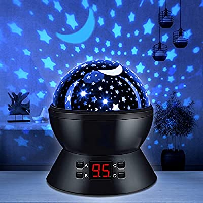 Multicolored Star Projector Night Light for Kids