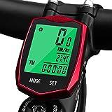 KOROSTRO Compteur de vélo étanche sans Fil avec écran LCD Backlight sans Fil...
