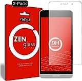 ZenGlass [2 Stück Flexible Glas-Folie kompatibel mit Medion Life X5004 Panzerfolie I Bildschirm-Schutzfolie 9H