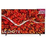 LG 86UP8000-ALEXA 2021-Smart TV 4K UHD 217 cm (86') con Inteligencia Artificial, Procesador Inteligente α7 Gen4, Deep Learning, 100% HDR, Dolby ATMOS, HDMI 2.1, USB 2.0, Bluetooth 5.0, WiFi
