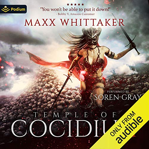 Temple of Cocidius Audiobook By Maxx Whittaker cover art