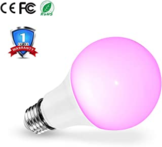LED Grow Light Bulb, Full Spectrum Growing Lights for Indoor Plants, 20W E27 LED Plant Light Bulbs for Hydroponic Succulent Herbs Vegetable Flower Seed, Seedling, Indoor Gardening Greenhouse Grow Lamp