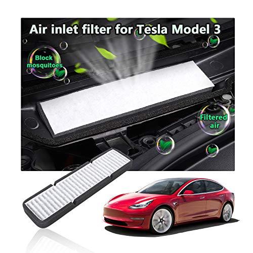 LFOPPT Lufteinlassfilter, Model 3, Luftfilter der Klimaanlage, austauschbarer Frischluft-Cockpit-Luftfilter