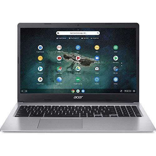 Acer 15.6inch Chromebook-Intel Celeron N4000 Processor, 4GB Memory, 32GB SSD Storage, Bluetooth, Chrome OS-(Renewed)
