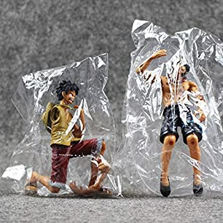 Japanese Anime Dramatic Showcase Luffy Ace 5Th Season Vol.1 PVC Action Figure Collectible Model Toys 12Cm New Must Haves Boy Gifts Favourite Movie Superhero Animators Collection