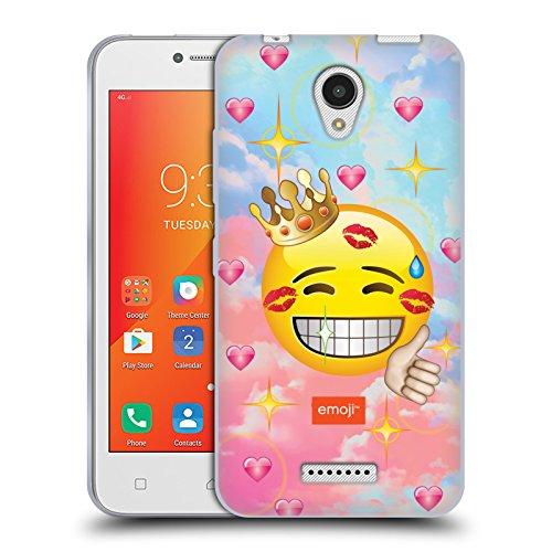 Head Case Designs Oficial Emoji Besado Smileys Carcasa de Gel de Silicona Compatible con Lenovo A Plus