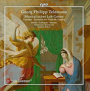 Telemann: Cantatas & Fantasies for Viola da gamba