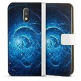 DeinDesign Étui Compatible avec Motorola Moto G4 Plus Étui Folio Étui magnétique Galaxie Cosmos...