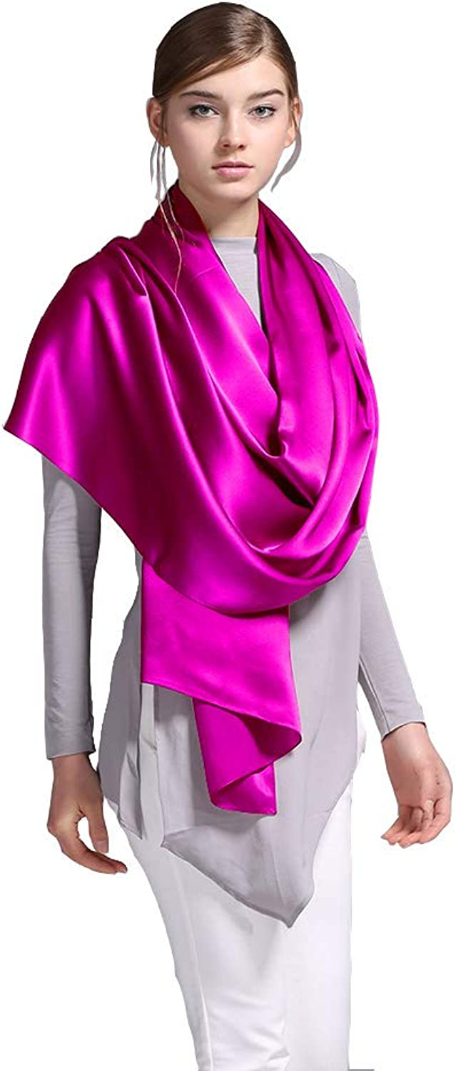 100% Silk Long Scarf Women Fashion Scarves and Shawls For Winter