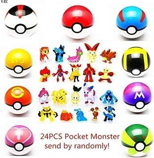 sqzkzc 9pcs Ball Pokemon Master Great Ultra GS Pokeballs +