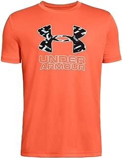 Under Armour Boys' Print Fill Logo T-Shirt