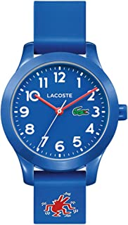 Lacoste Blue Unisex-Child Quartz Watch, Analog Display and Silicone Strap 2030014