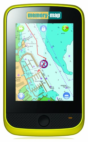 Memory-Map  Adventurer 3500 GPS Plus os Mapping,Amarillo/