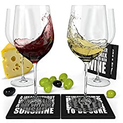 Wine Science Crystal Wine Glasses
